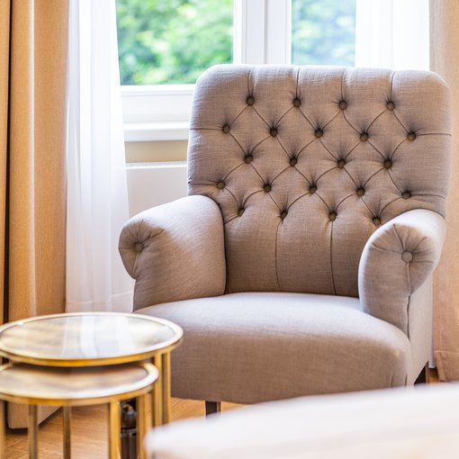 Strandhotel Ahlbeck Suite chair