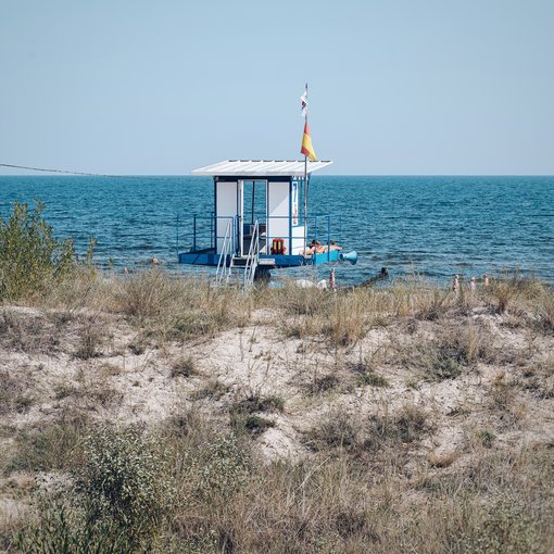 Ahlbeck life guard tower | © Konrad Langer