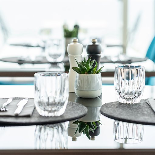 Prime Restaurant Ahlbeck table